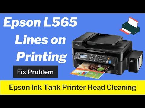 epson L565 , lines on printing , L210, L130 , L220, L310, L360, L365