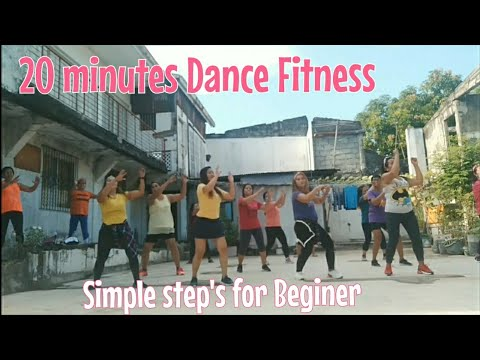 20 MINUTES DANCE FITNESS [SIMPLE STEPS FOR BEGINER]