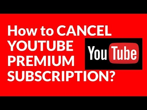 How To CANCEL YOUTUBE PREMIUM SUBSCRIPTION?