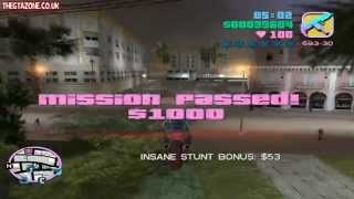 GTA Vice City Side Missions - PCJ Playground & Cone Crazy (HD)