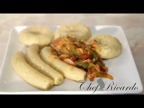 Jamaica Salt Mackerel Served With Cook Banana & Dumpling | R