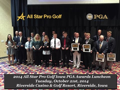 2014 All Star Pro Golf Iowa PGA Awards Luncheon