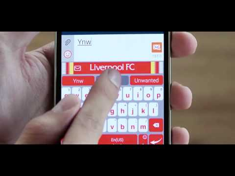 Liverpool FC Mobile Keyboard   SPANISH