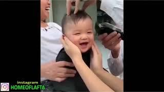 White vs black hair cut (Homeoflafta)
