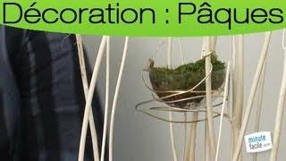 Réaliser un arbre décoratif pour Pâques