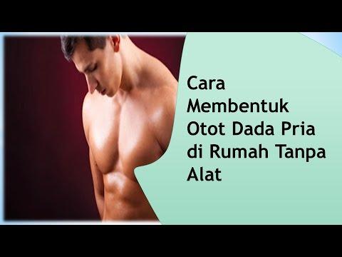 cara membentuk otot dada pria di rumah tanpa alat youtube