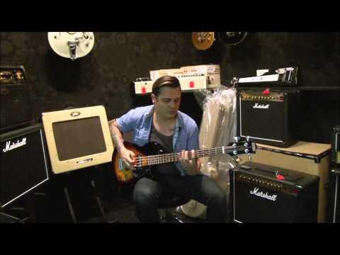 Gretsch G2220 Junior Jet Club Bass Guitar Demo