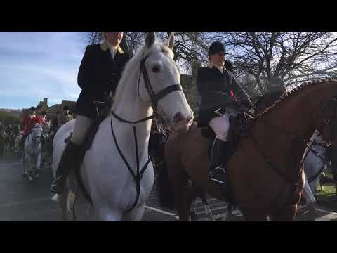Broadway Cotswold Boxing Day Hunt Christmas 2017
