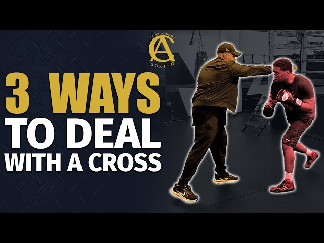 3 Ways to Deal With a Cross! [ The Rear Hand ]