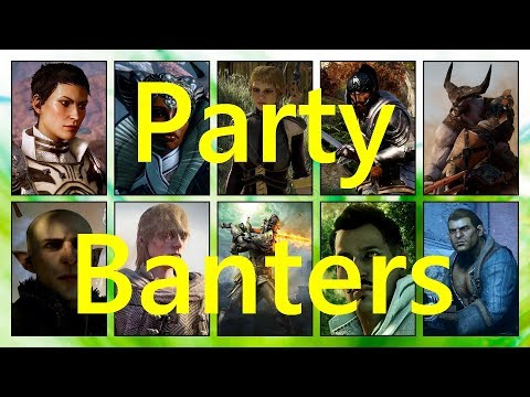 French Party Banters DAI - Discussions Des Compagnons Dragon Age Inquisition