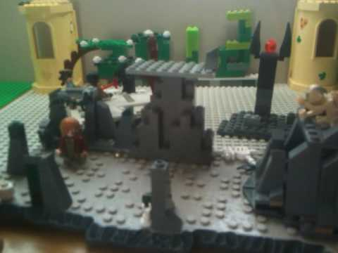 lego starkiller base moc mordor moc and gollum cave moc - YouTube