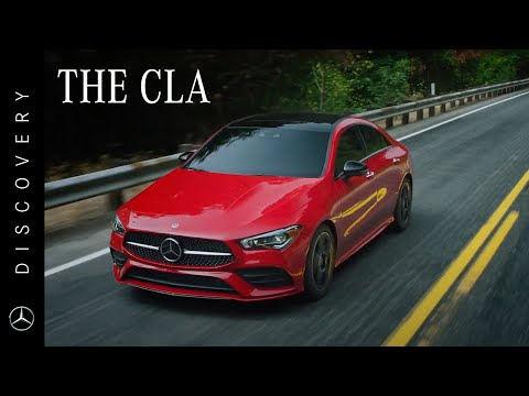 Get to know the new Mercedes-Benz CLA