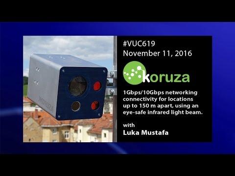 #vuc619 - Koruza free space optical connectivity