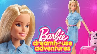 Barbie z pieskami w podróży