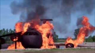 Aircraft Crash Training Fires