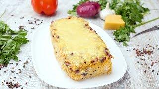 Картофельная запеканка с фасолью - Рецепты от Со Вкусом