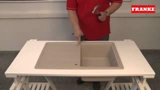 як зробити отвір в кам'яній мийці під фільтр