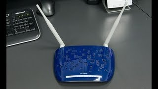TP-LINK TD-W8960N wireless router Review : configuration maroc telecom