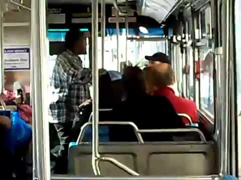 Vietnam Veteran Fights Street Thug On City Bus