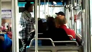 Vietnam Veteran Fights Street Thug On City Bus