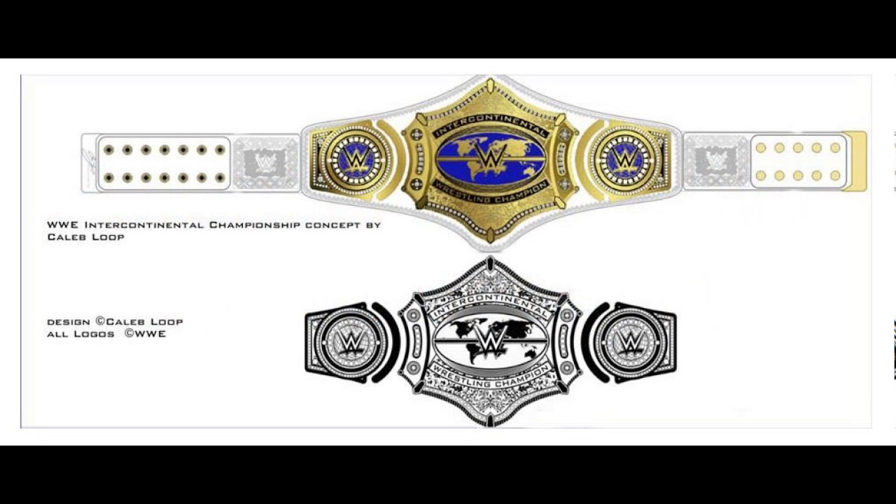 New Wwe Ic Title Design