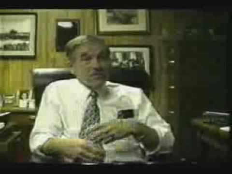 Ron Paul & The Gold Standard