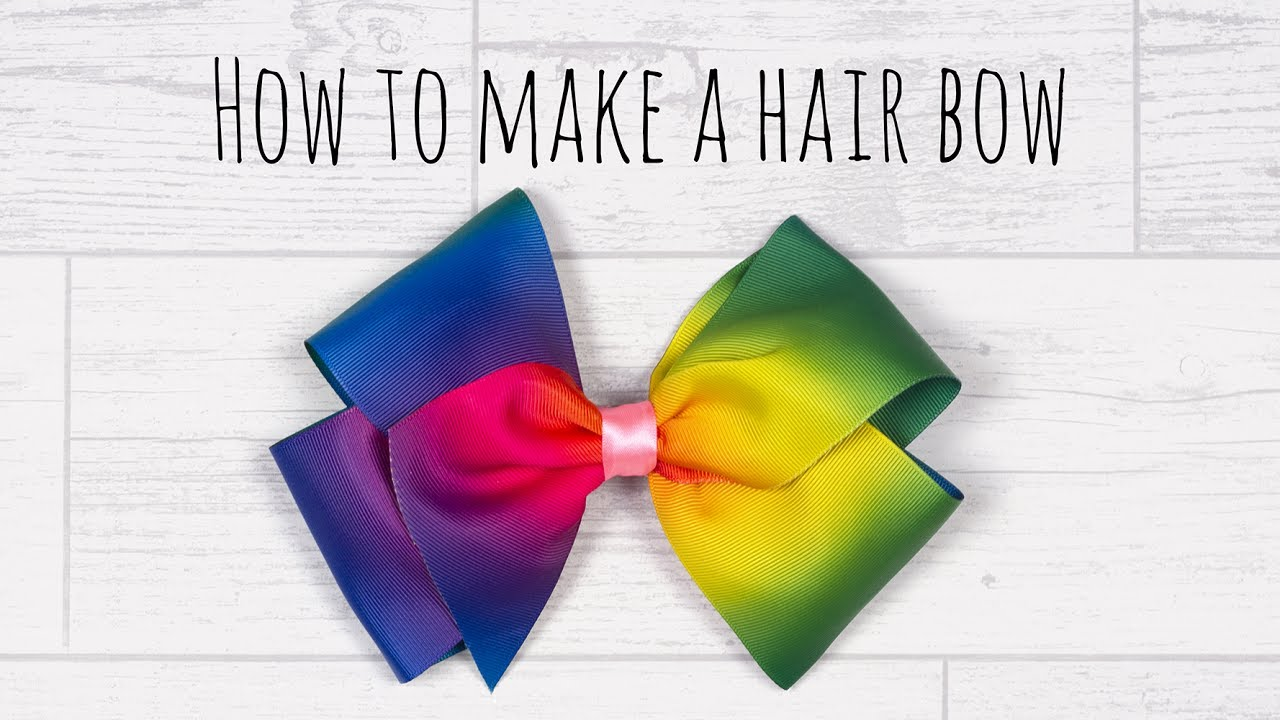 Diy jojo style boutique hair bow youtube diy jojo style boutique hair bow solutioingenieria Choice Image