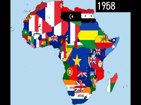 Africa: Timeline of National Flags - Part 1
