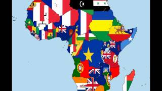 Repeat youtube video Africa: Timeline of National Flags - Part 1