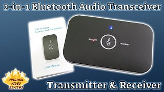 Item review - 2-In-1 Bluetooth Audio Receiver And Transmitter