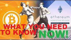 ETHEREUM vs BITCOIN What you need to know now!