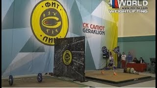 МУХОРТОВА/MUHORTOVA (69,W-50) 40-45-48х/60-65-66R. Russian Championships Masters -2017