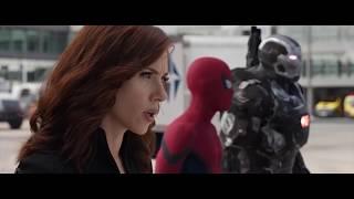 Airport Battle | Captain America Civil War (2016) Movie Clip | HD
