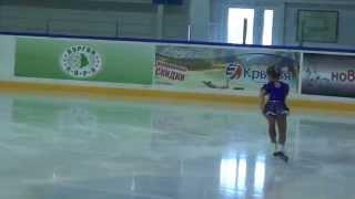 Даша Батяева, 6 лет, 10 место (упала((()