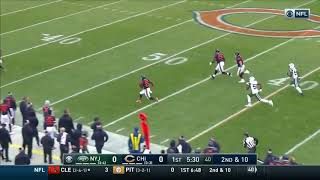 Tarik Cohen 70 Yard Recieving TD Bears Vs Jets