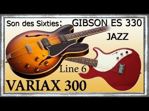 VARIAX 300 Démo GIBSON ES 330 P90 Improvisation Jazz MISTY Jean-Luc LACHENAUD.wmv