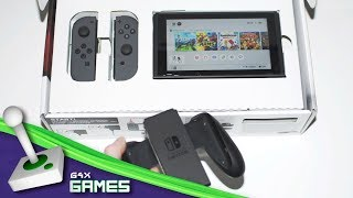 Nintendo Switch Console Unboxing and Impressions