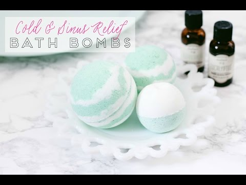 Thumbnail: How to Make Bath Bombs for Cold and Sinus Relief