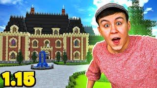 DIE FETTE VILLA IST IM BAU! - Minecraft 1.15 #12 [Deutsch/HD]