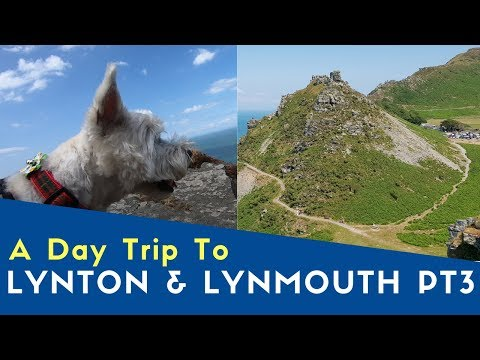 a-day-trip-to-lynton-and-lynmouth-pt3-|-valley-of-the-rocks-|-bailey-meetup-tour-2019