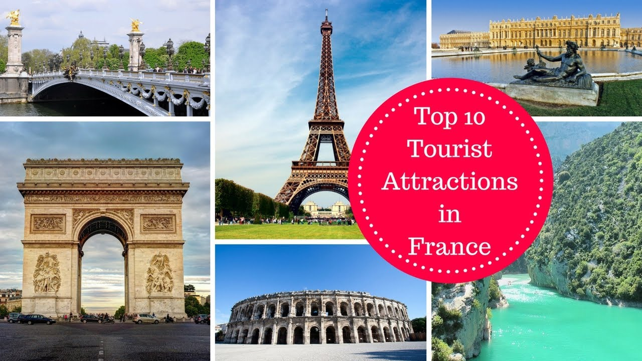 top 10 tourist attractions in france rk travel youtube