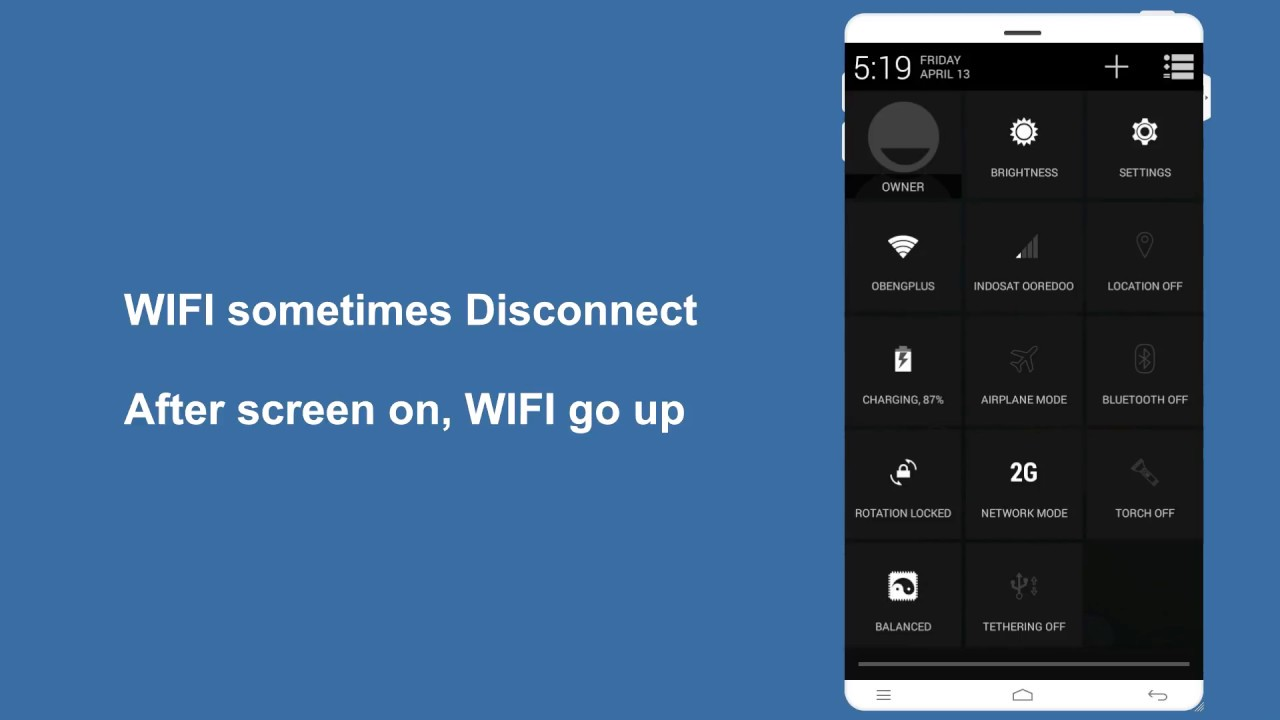 Fix WIFI Disconnect Reconnect how to keep WIFI Always On