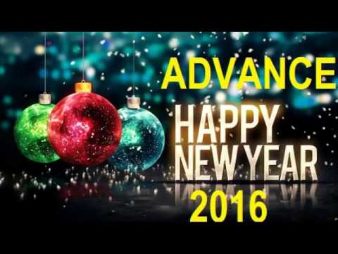 advance happy new year 2017 wishes messages images greetings youtube