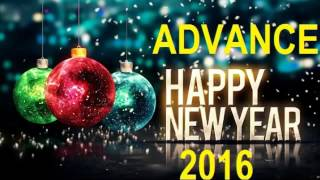 Advance Happy New Year 2017 Wishes Messages Images Greetings