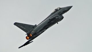 Air Show Radom 2015 - Italian Eurofighter Typhoon [HD]
