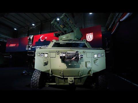 Silah Taşıyıcı Araçların TSK'ya Teslimatı Başladı