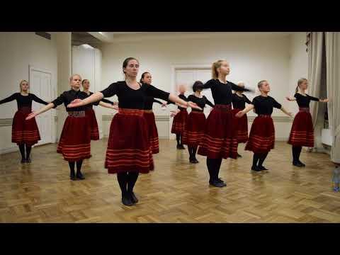 """III Kagu-Eesti tantsupidu - Neiud - """"Hakkas sadama"""""""