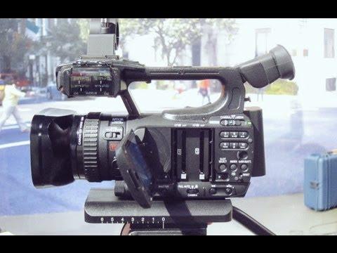 Canon XF100 Pro Broadcast Camera Review