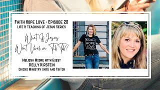 Episode 20: What If Jesus Went Viral on TikTok? with Kelly Kirstein