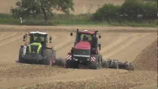 Case STX Quadtrac 600 und Claas Xerion 5000 + Köckerling  Vector . by ffarmer99